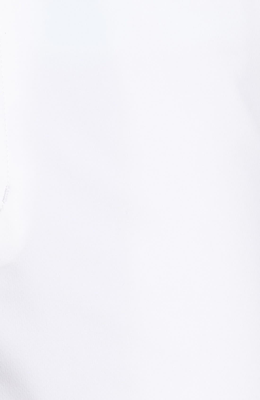 Bainbridge DryTec Flat Front Shorts,                             Alternate thumbnail 3, color,                             White