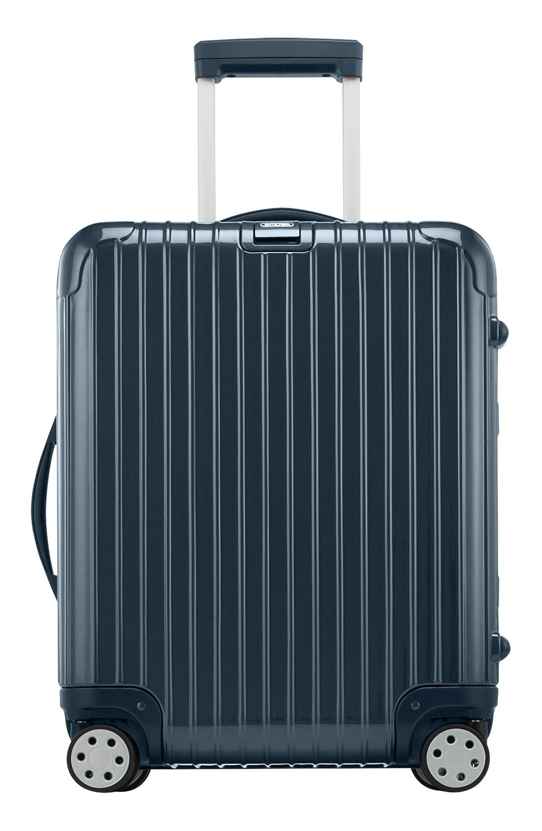 Salsa Deluxe 22-Inch Cabin Multiwheel<sup>®</sup> Carry-On,                             Main thumbnail 1, color,                             Yachting Blue
