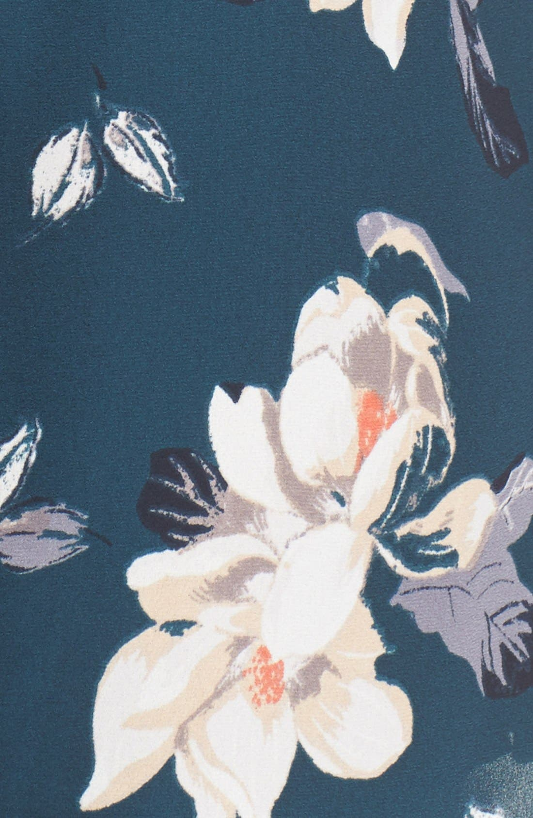 Alternate Image 5  - ASTR Floral Print Romper