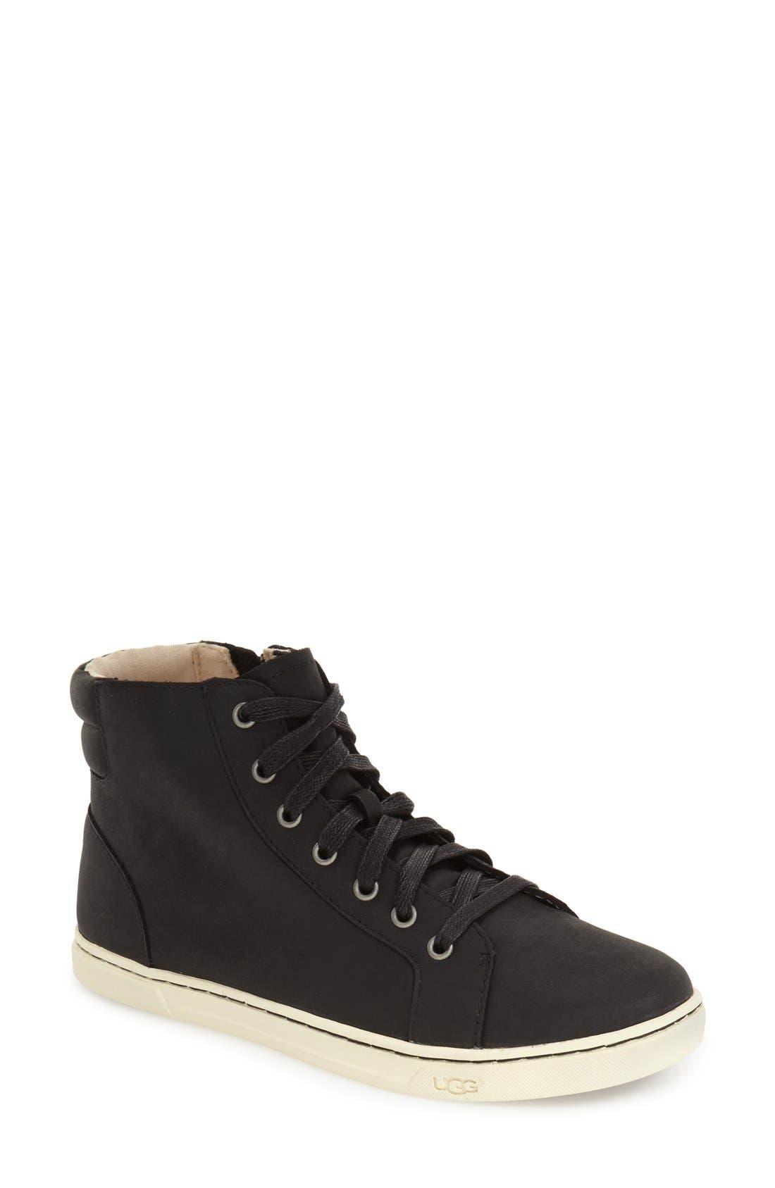 Alternate Image 1 Selected - UGG® 'Gradie' High Top Sneaker (Women)