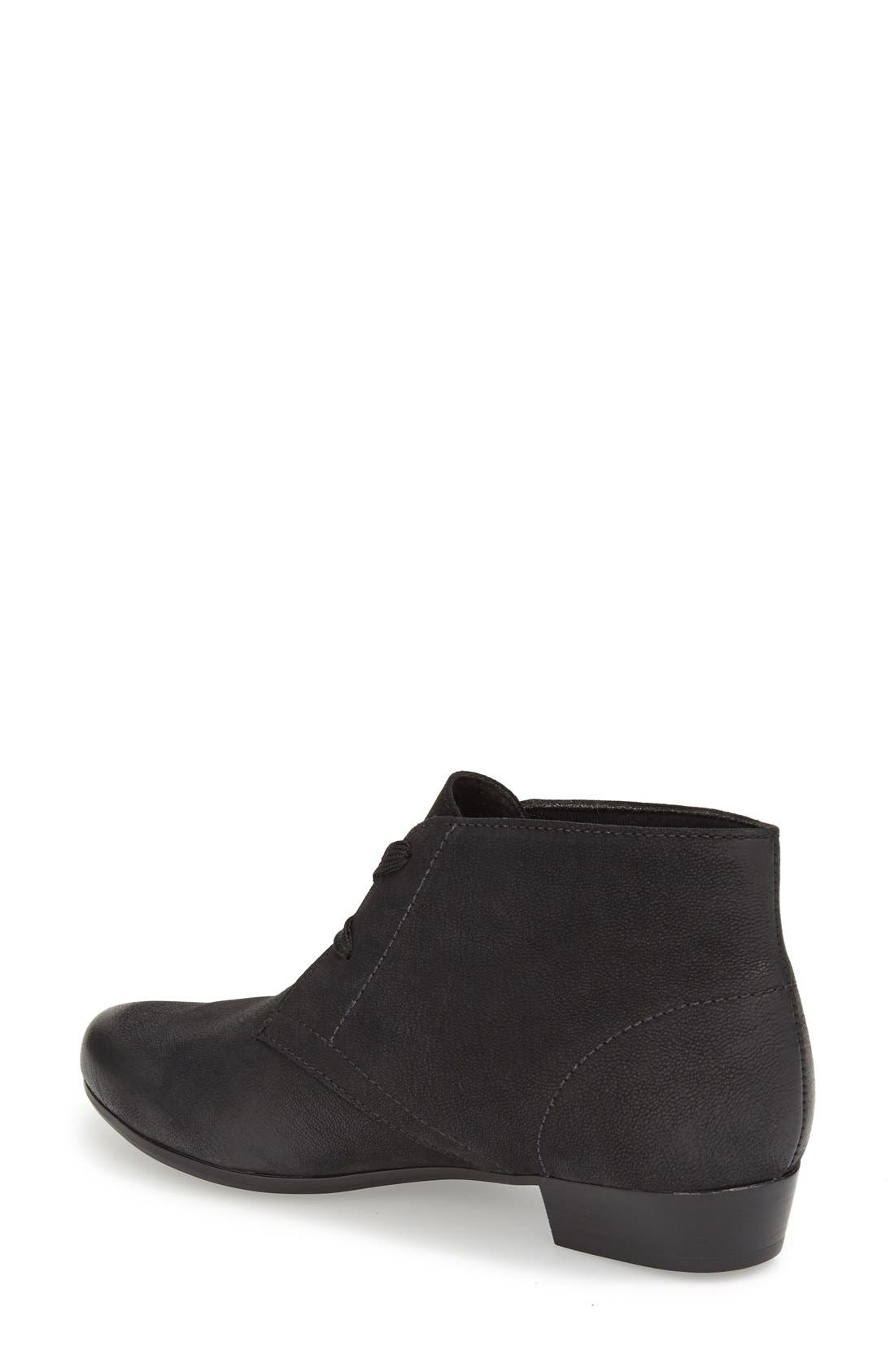 Alternate Image 2  - Munro 'Sloane' Lace Up Bootie (Women)