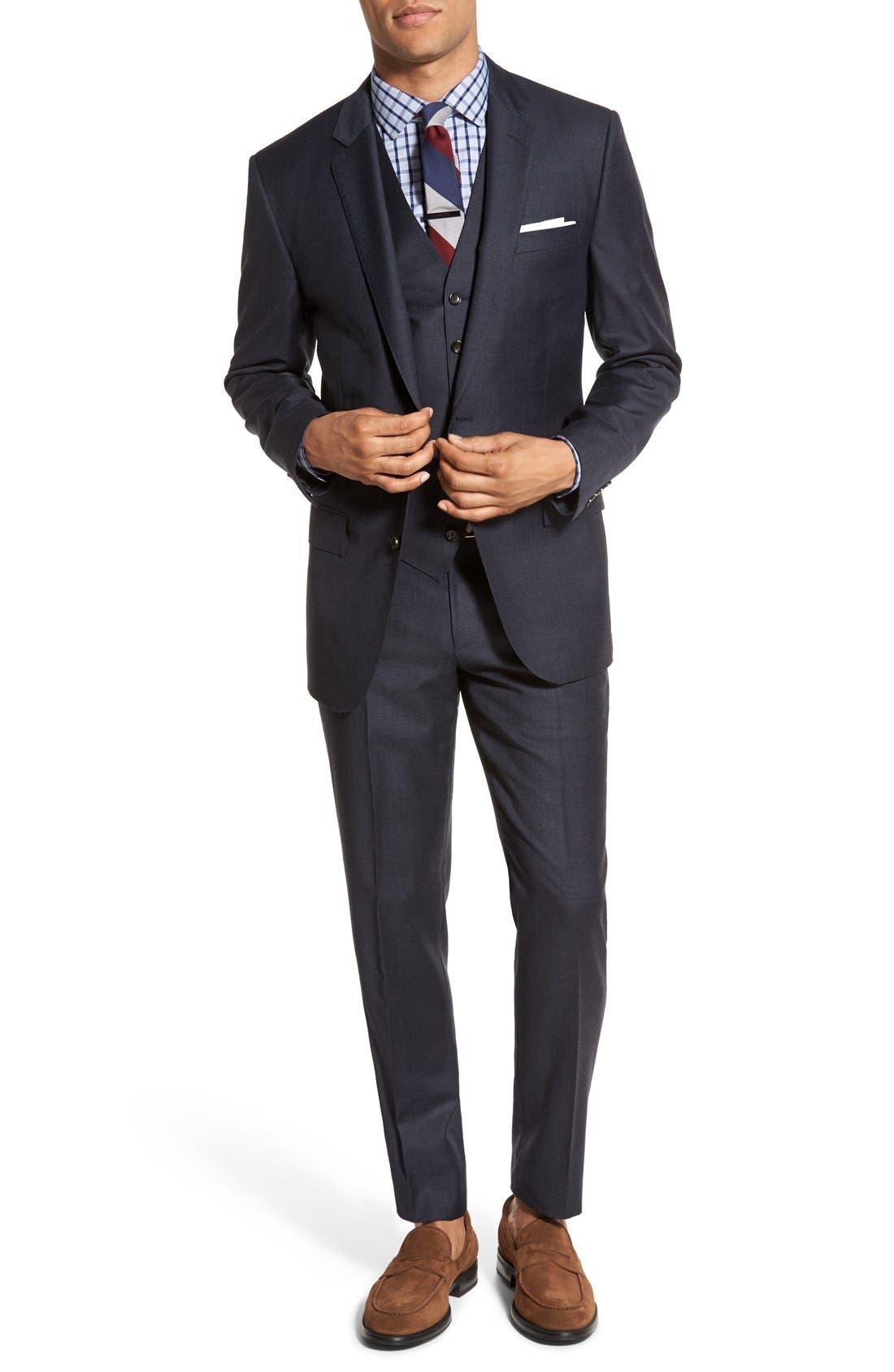 J.Crew Ludlow Sport Coat, Vest & Trousers
