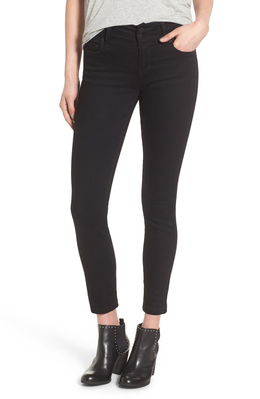 STS Blue Double Button Skinny Jeans