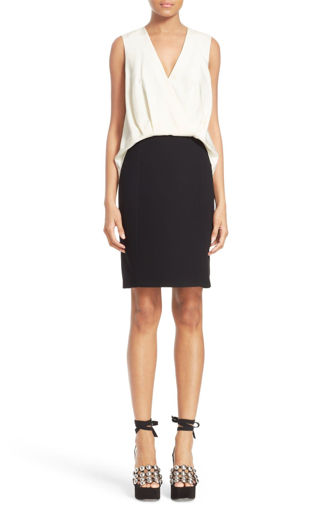 Alternate Image 1 Selected - Alexander Wang Drape Front Dress