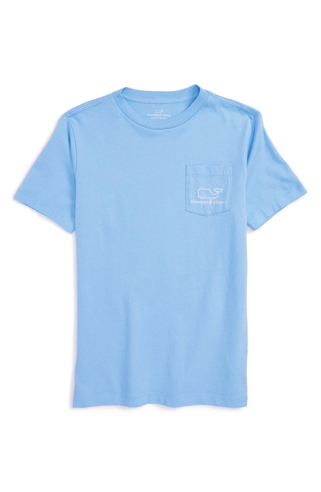 Main Image - vineyard vines Whale T-Shirt (Big Boys)