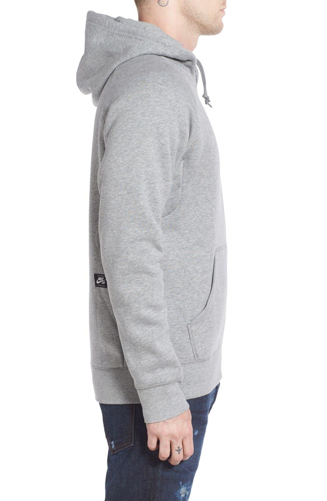 Alternate Image 3  - Nike SB 'Icon' Zip Hoodie