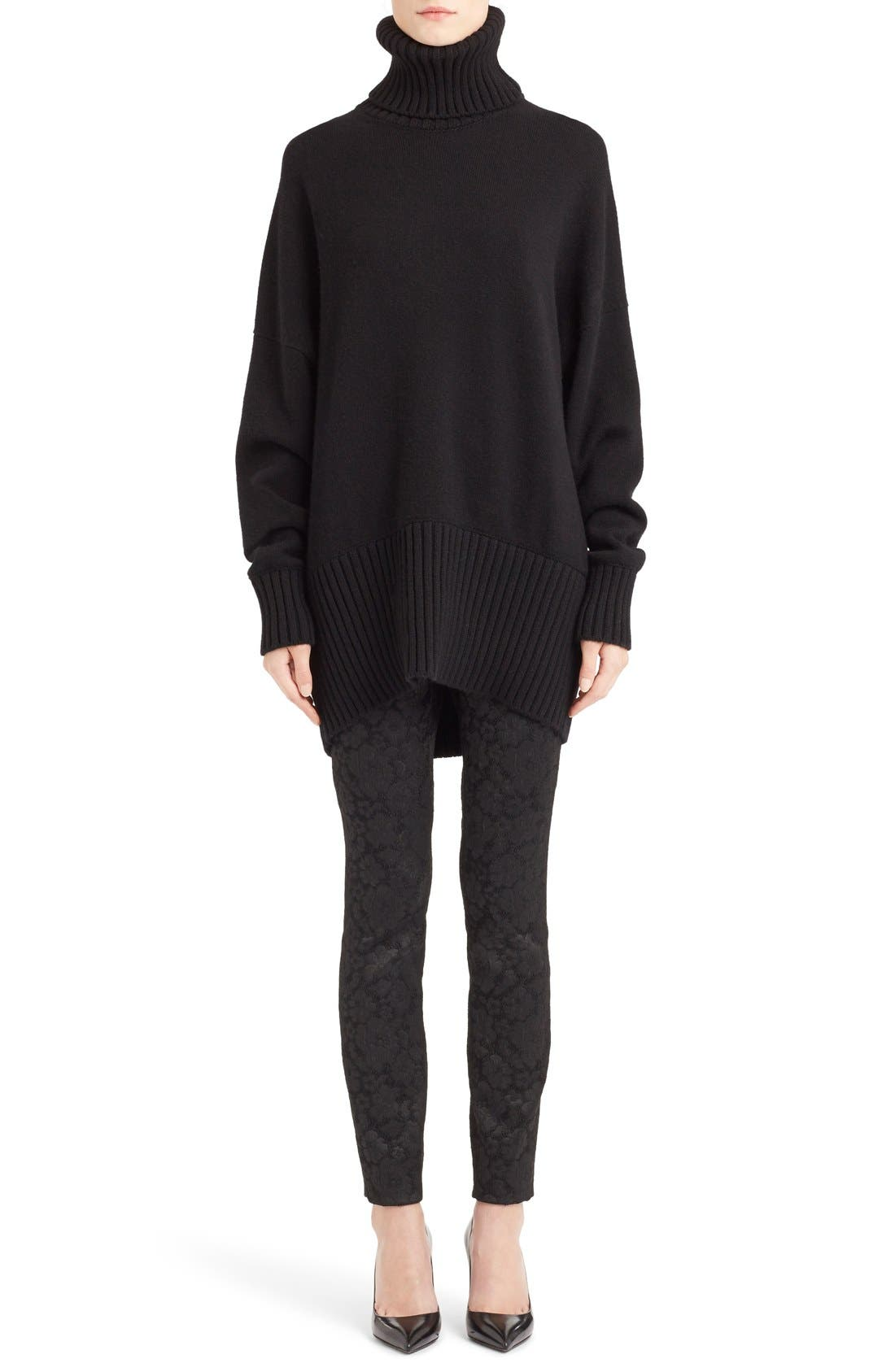 Alternate Image 1 Selected - Dolce&Gabbana Turtleneck Cashmere Sweater