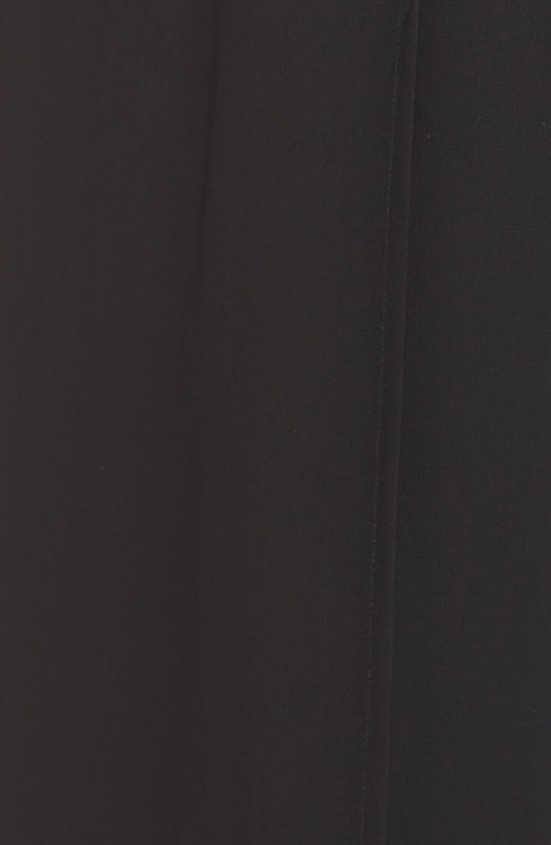 Alternate Image 5  - Halston Heritage Strapless Split Front Jumpsuit