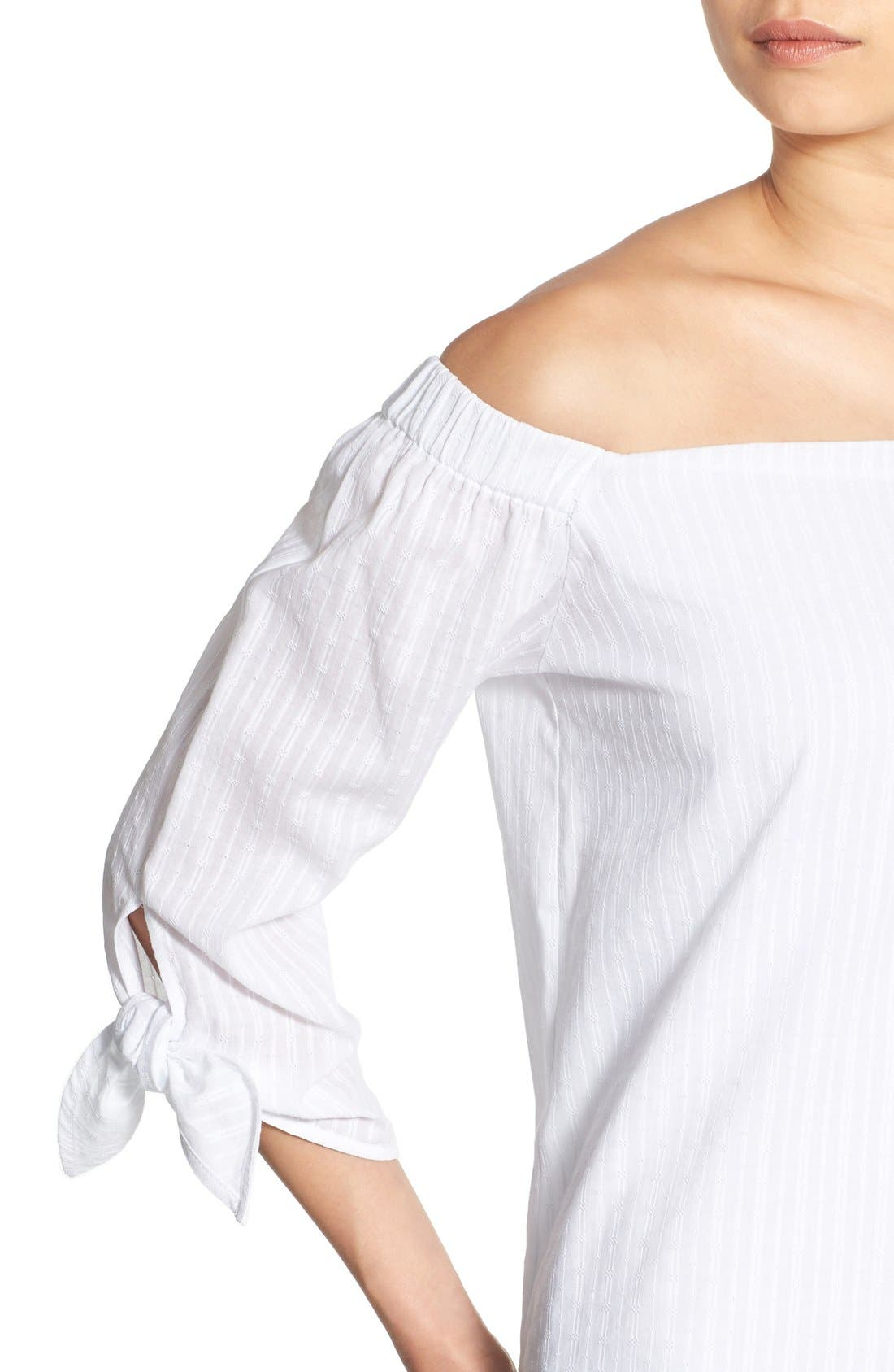 Alternate Image 4  - Bailey 44 'Yarrow' Off the Shoulder Top