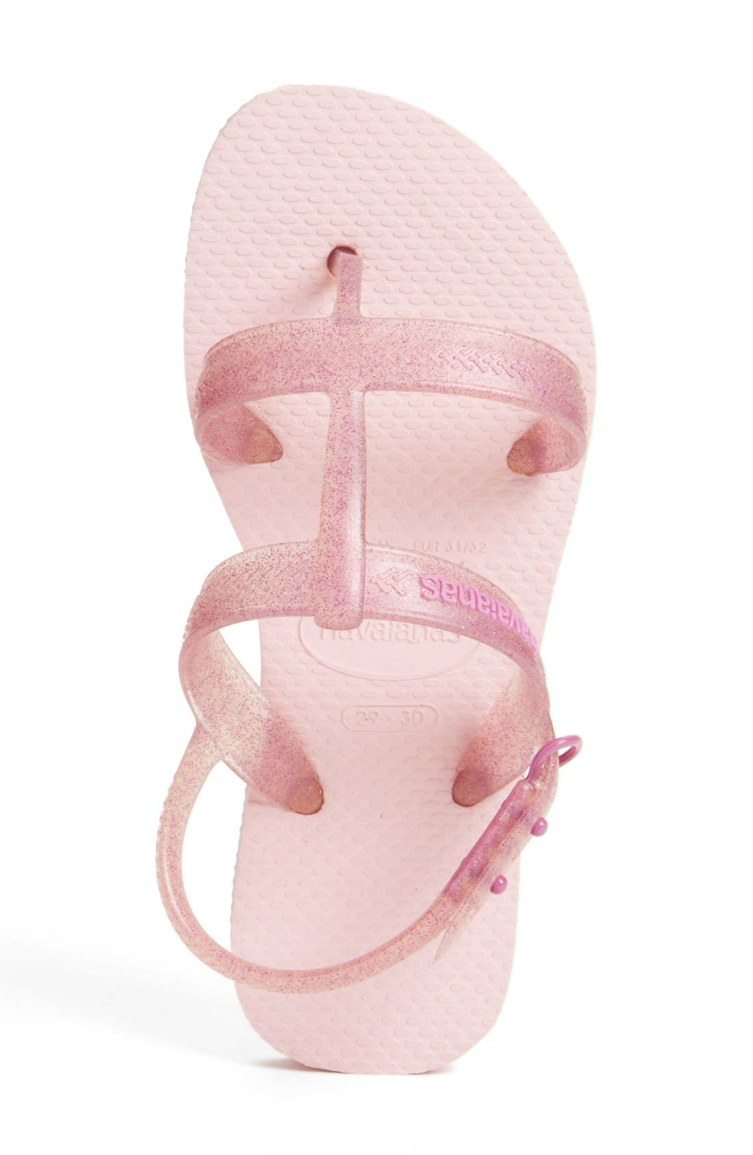 'Joy' Sandal,                             Alternate thumbnail 3, color,                             Pink