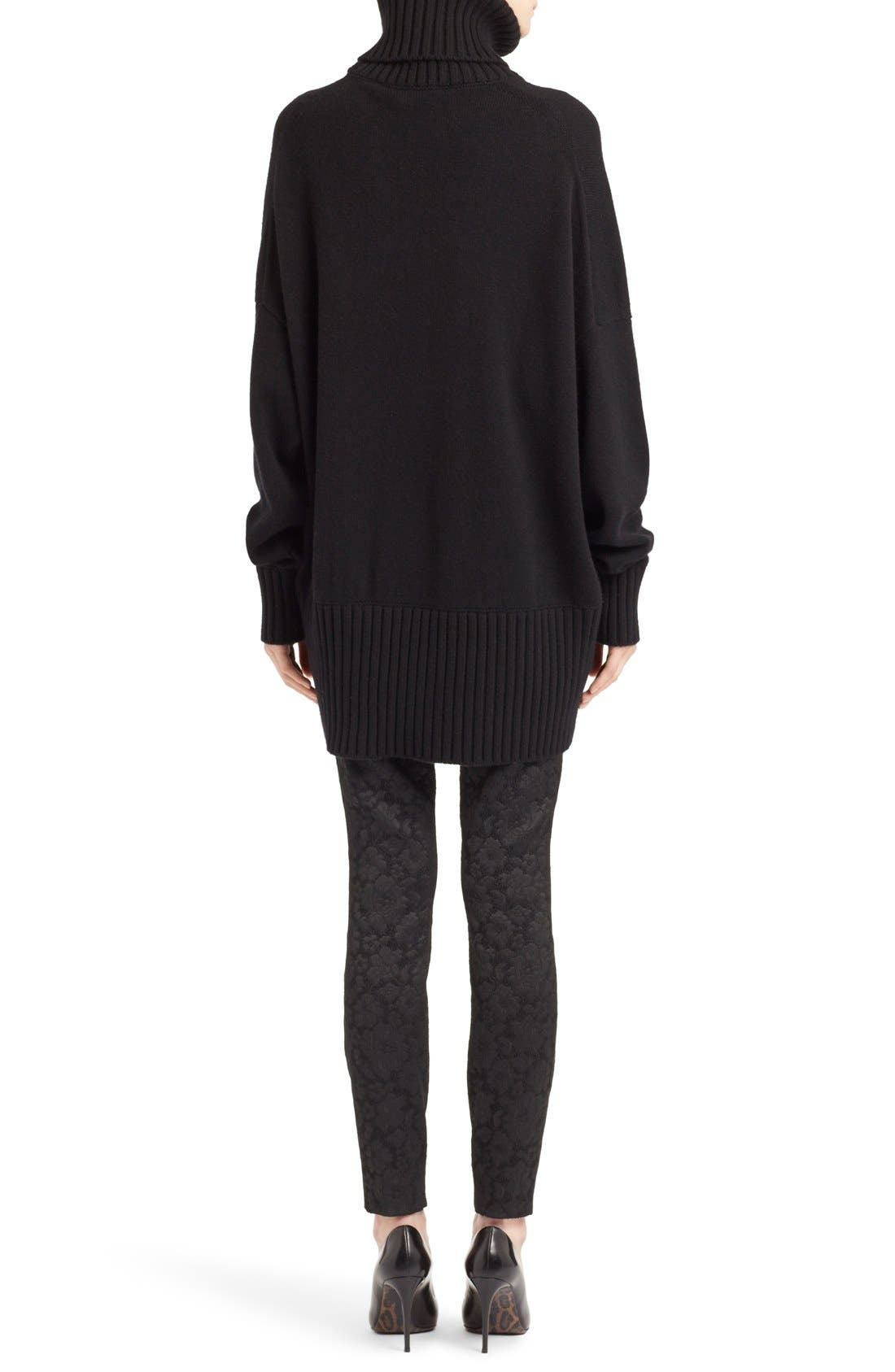 Alternate Image 2  - Dolce&Gabbana Turtleneck Cashmere Sweater