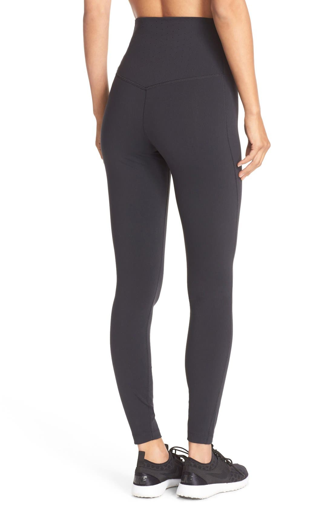 Alternate Image 2  - Nike Power Legendary High Waist Tights