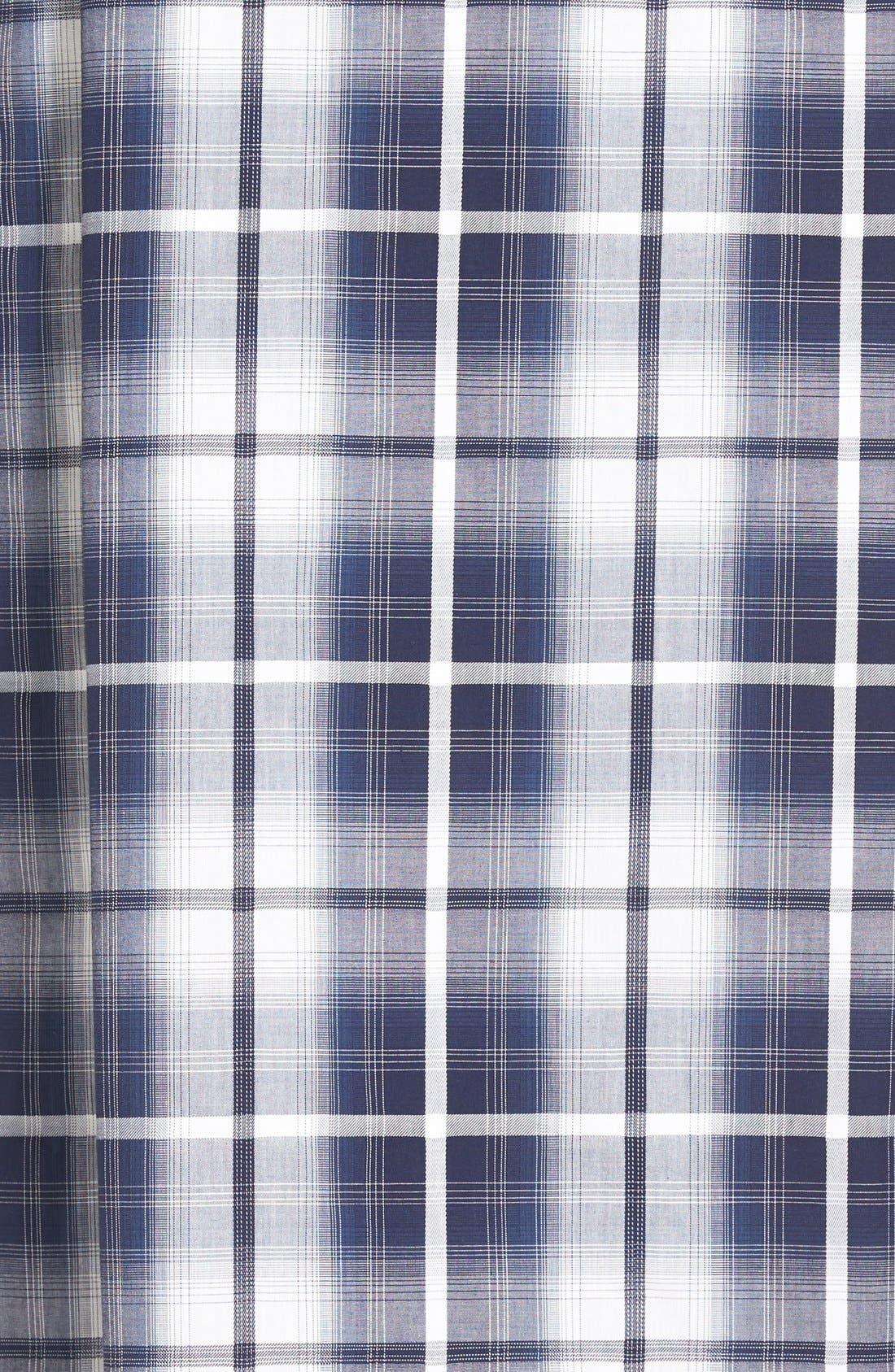 'Mad 4 Plaid' Robe,                             Alternate thumbnail 5, color,                             Blue