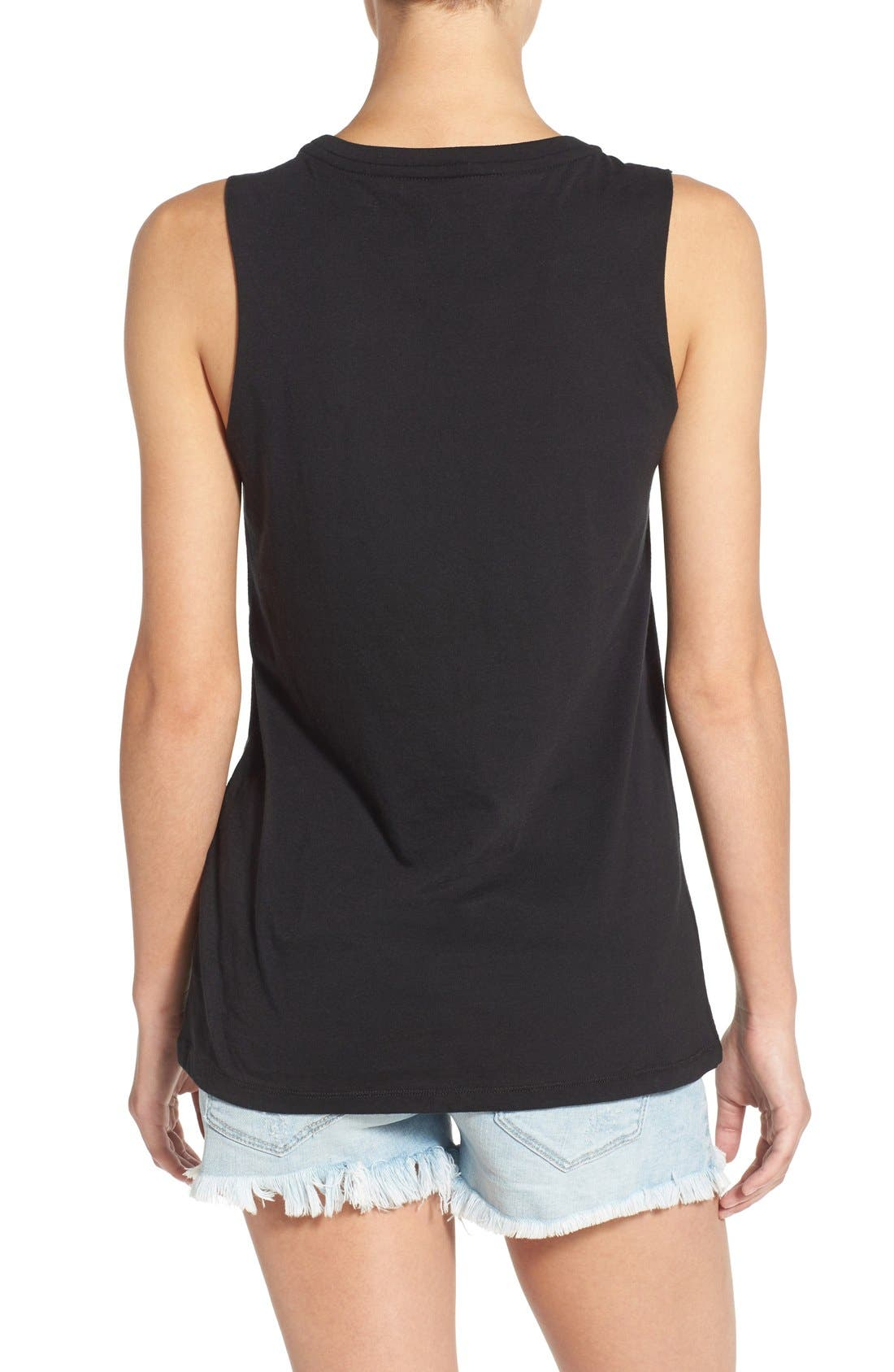 Alternate Image 2  - Element 'City Desert' Graphic Muscle Tank