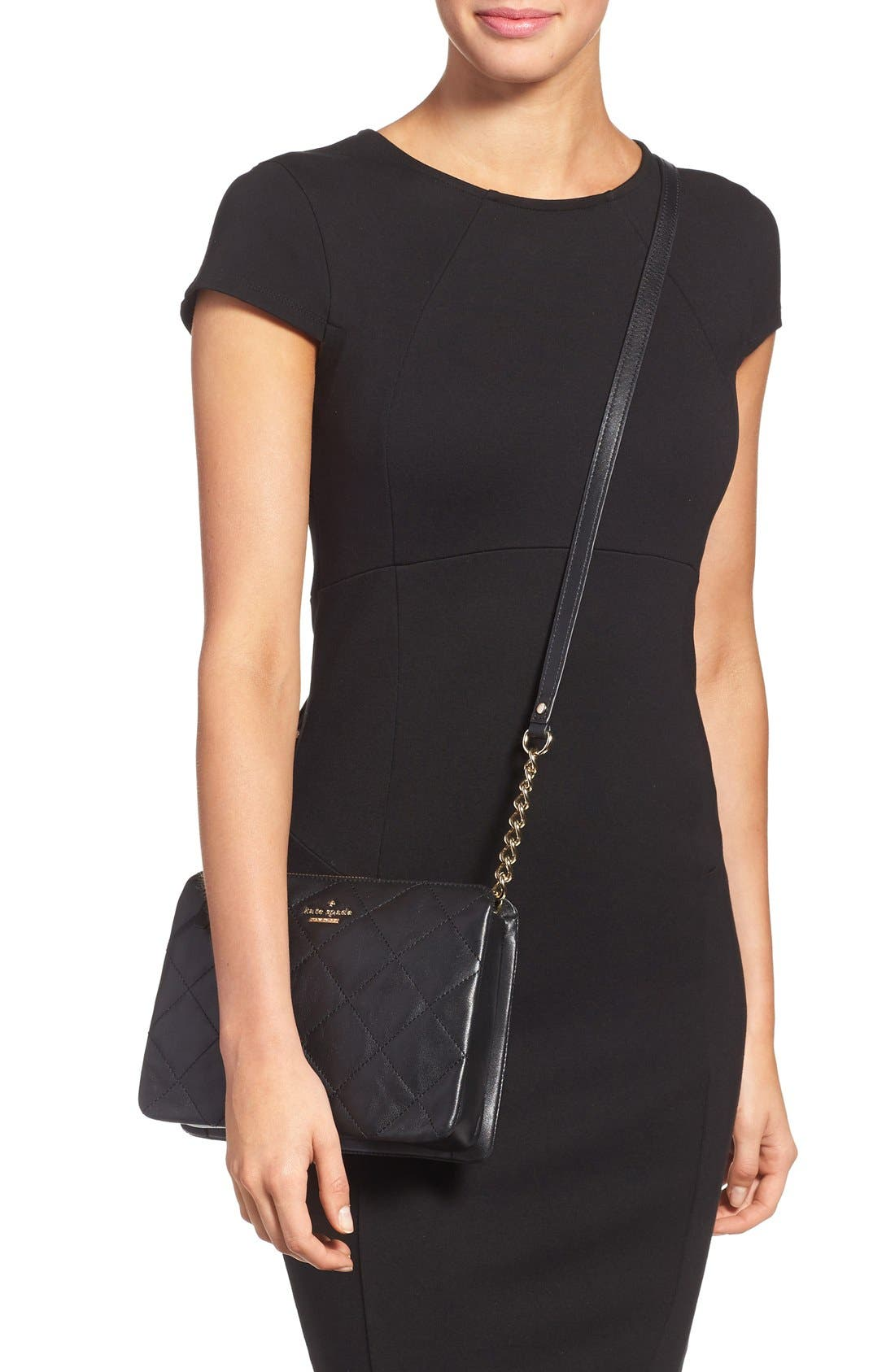 Alternate Image 2  - kate spade new york emerson place harbor leather crossbody bag