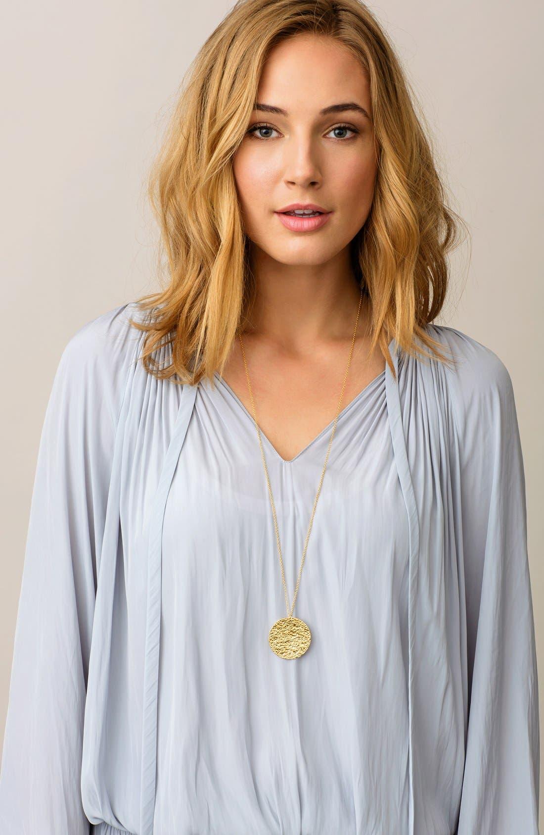 Alternate Image 2  - gorjana 'Faye' Pendant Necklace