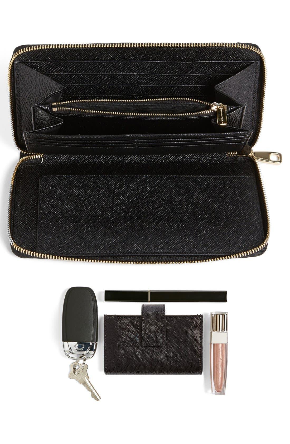 Alternate Image 5  - Dolce&Gabbana 'Extra Large' Checkbook Wallet