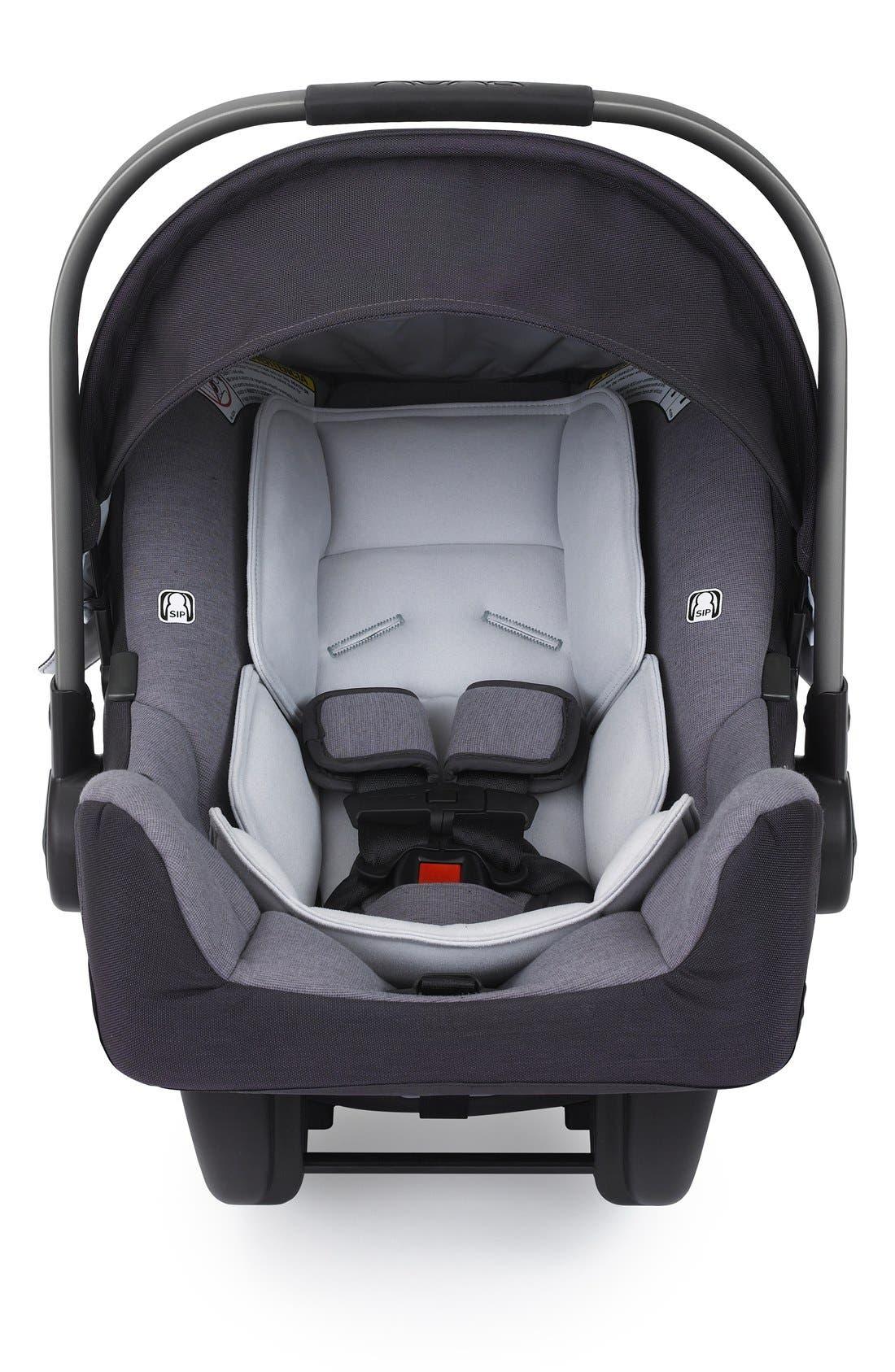 'PIPA<sup>™</sup>' Car Seat & Base,                             Main thumbnail 1, color,                             Jett