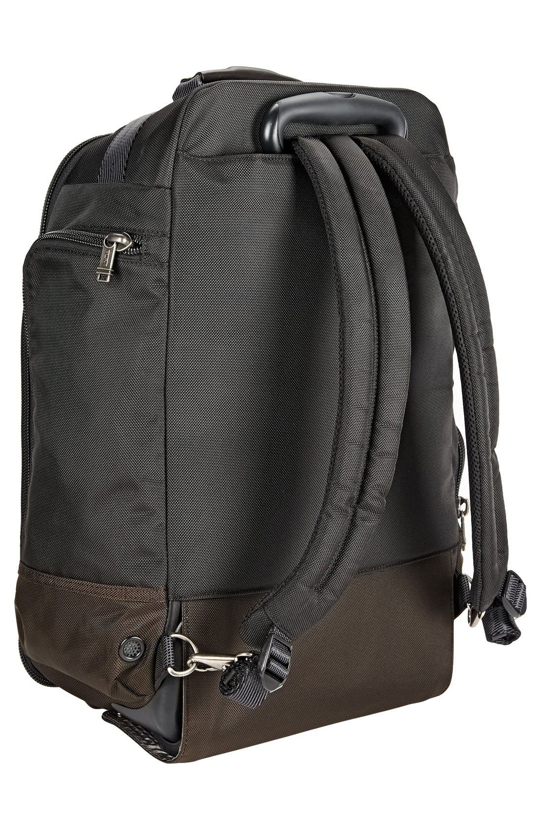 'Alpha Bravo – Peterson' Wheeled Backpack,                             Alternate thumbnail 3, color,                             Hickory Black