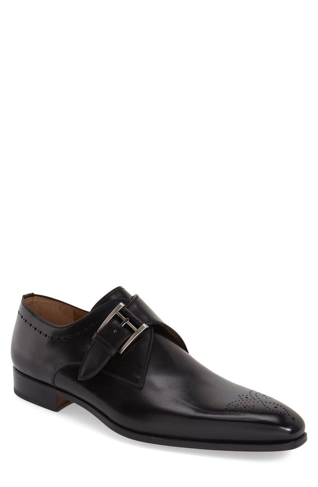 Magnanni 'Geruasi' Monk Strap Shoe (Men)