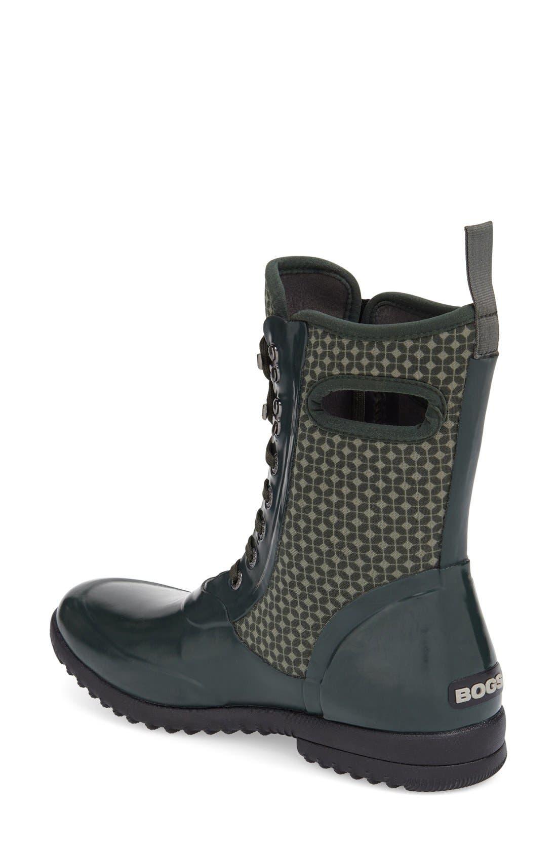 Alternate Image 2  - Bogs 'Sidney Cravat' Lace-Up Waterproof Boot (Women)