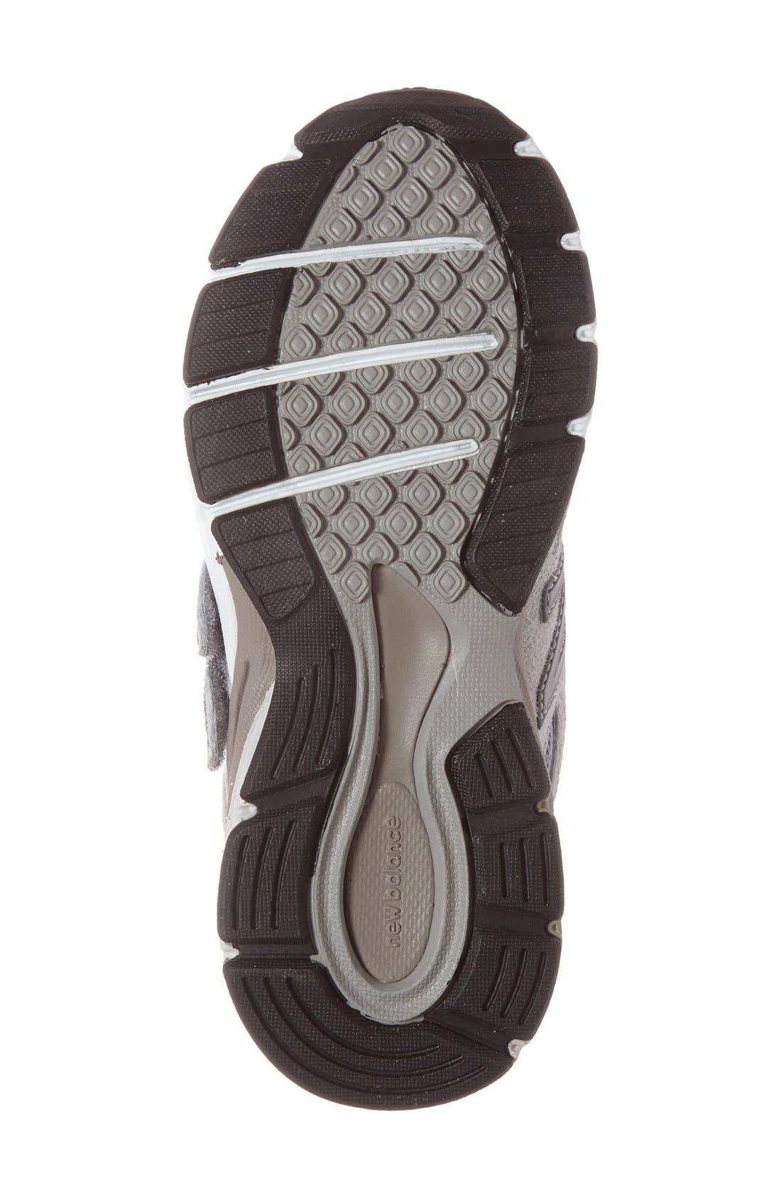 '990v4' Sneaker,                             Alternate thumbnail 4, color,                             Grey