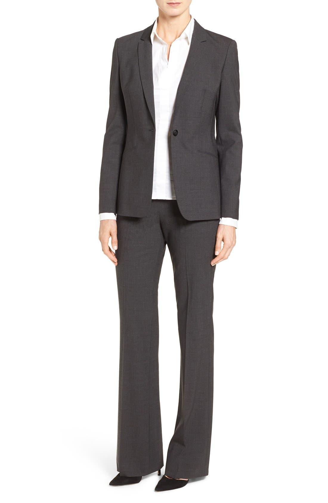 BOSS Suit Jacket, Trousers & Shirt
