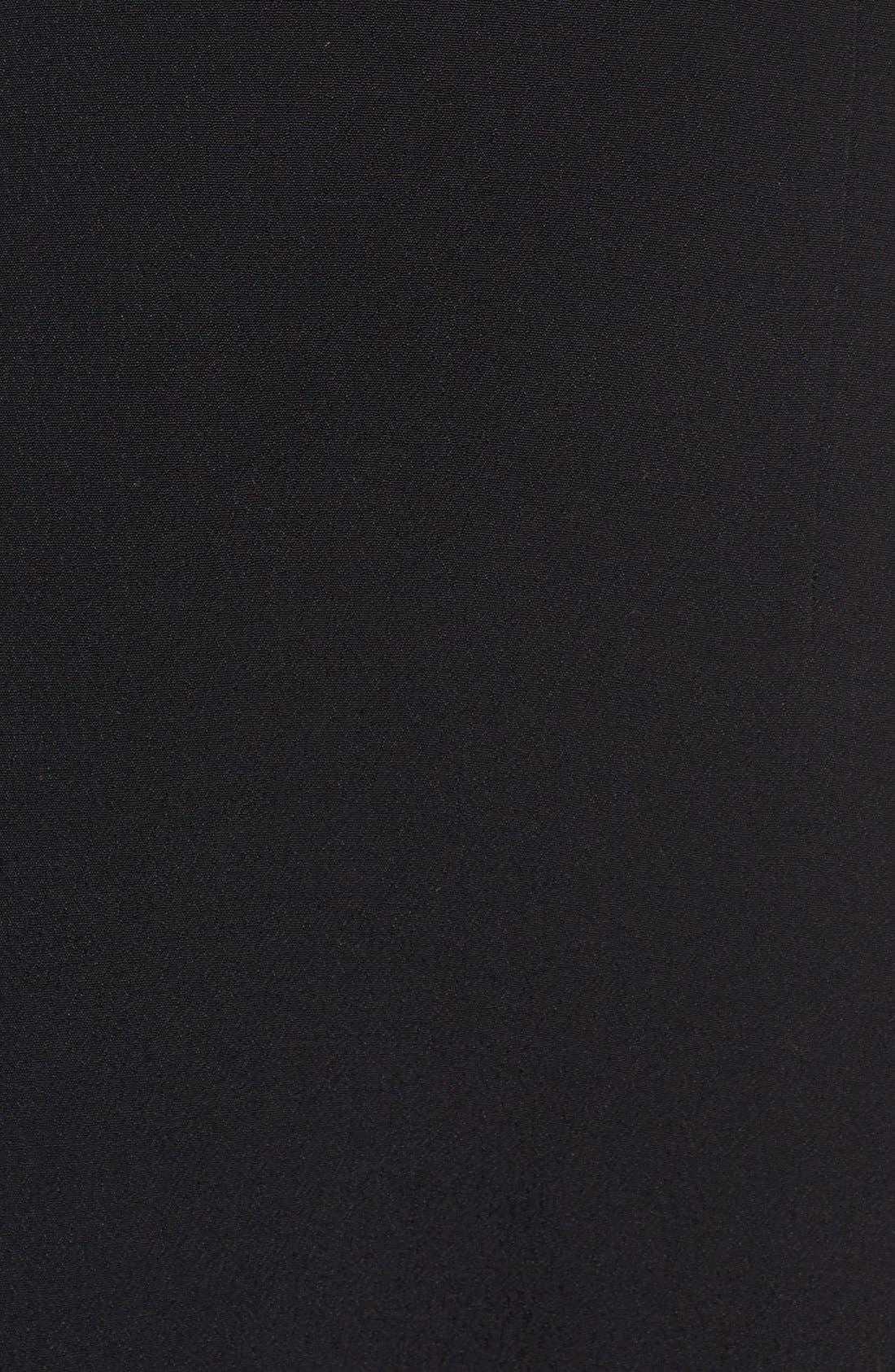 Alternate Image 5  - For Love & Lemons 'Gracey' Illusion Lace Midi Dress