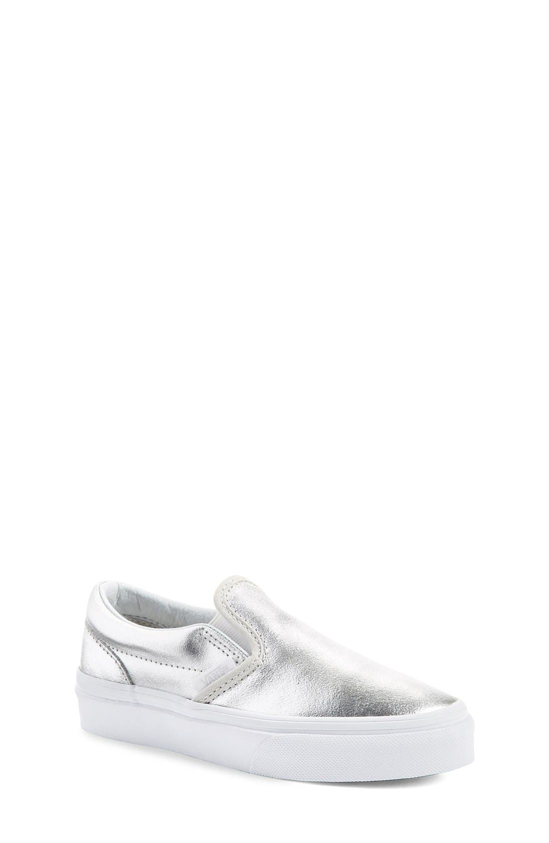 Vans 'Classic - Metallic' Slip-On (Baby, Walker, Toddler, Little Kid & Big Kid)