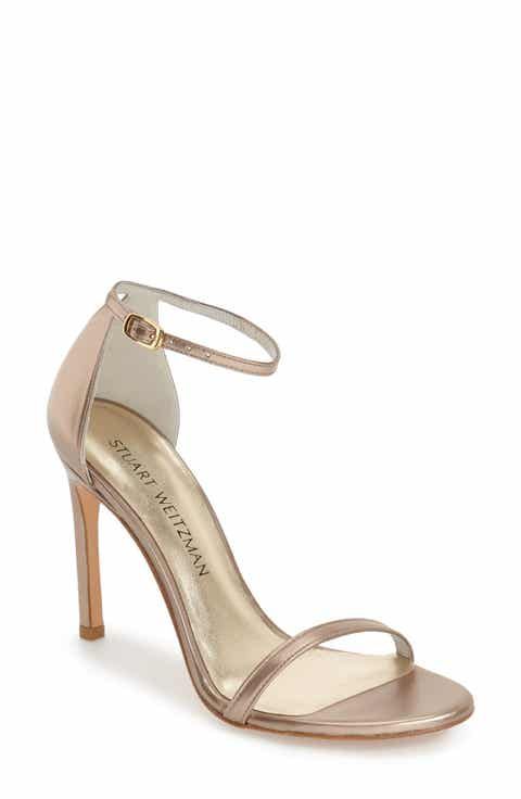 Stuart Weitzman Nudistsong Ankle Strap Sandal Women