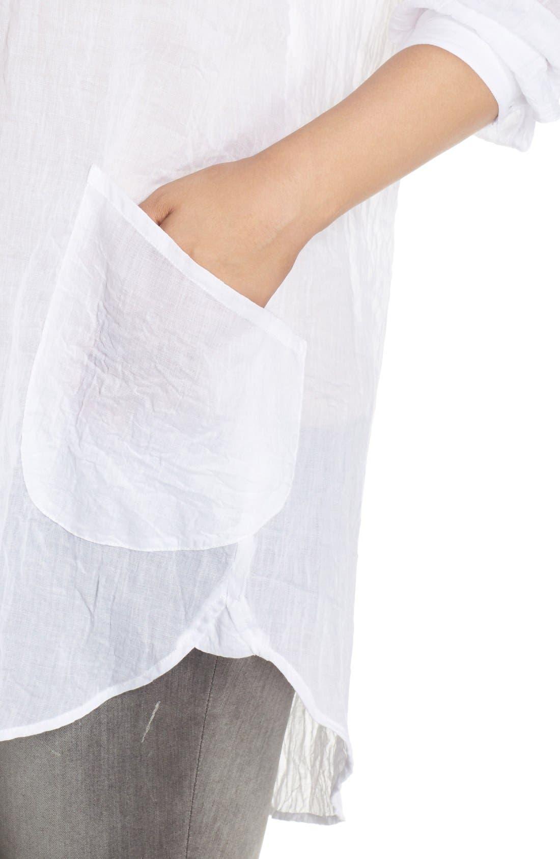 Alternate Image 4  - Melissa McCarthy Seven7 Patch Pocket Tunic Shirt (Plus Size)