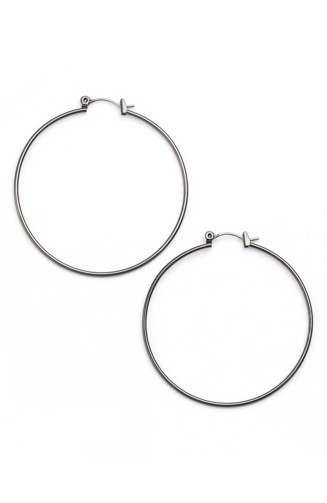 Alternate Image 1 Selected - Nordstrom 'Medium Whisper' Hoop Earrings