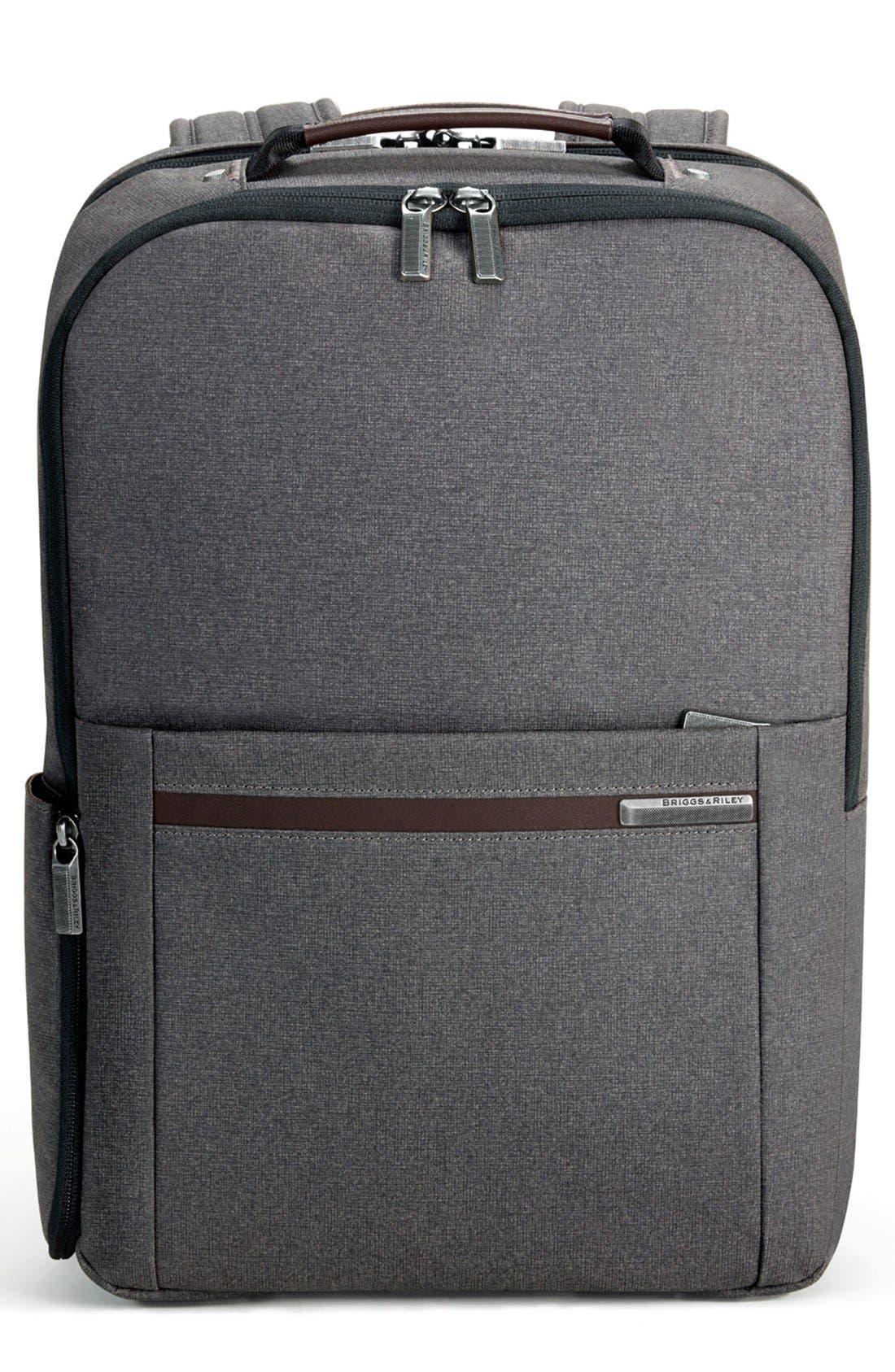 Alternate Image 1 Selected - Briggs & Riley 'Kinzie Street' Medium Backpack