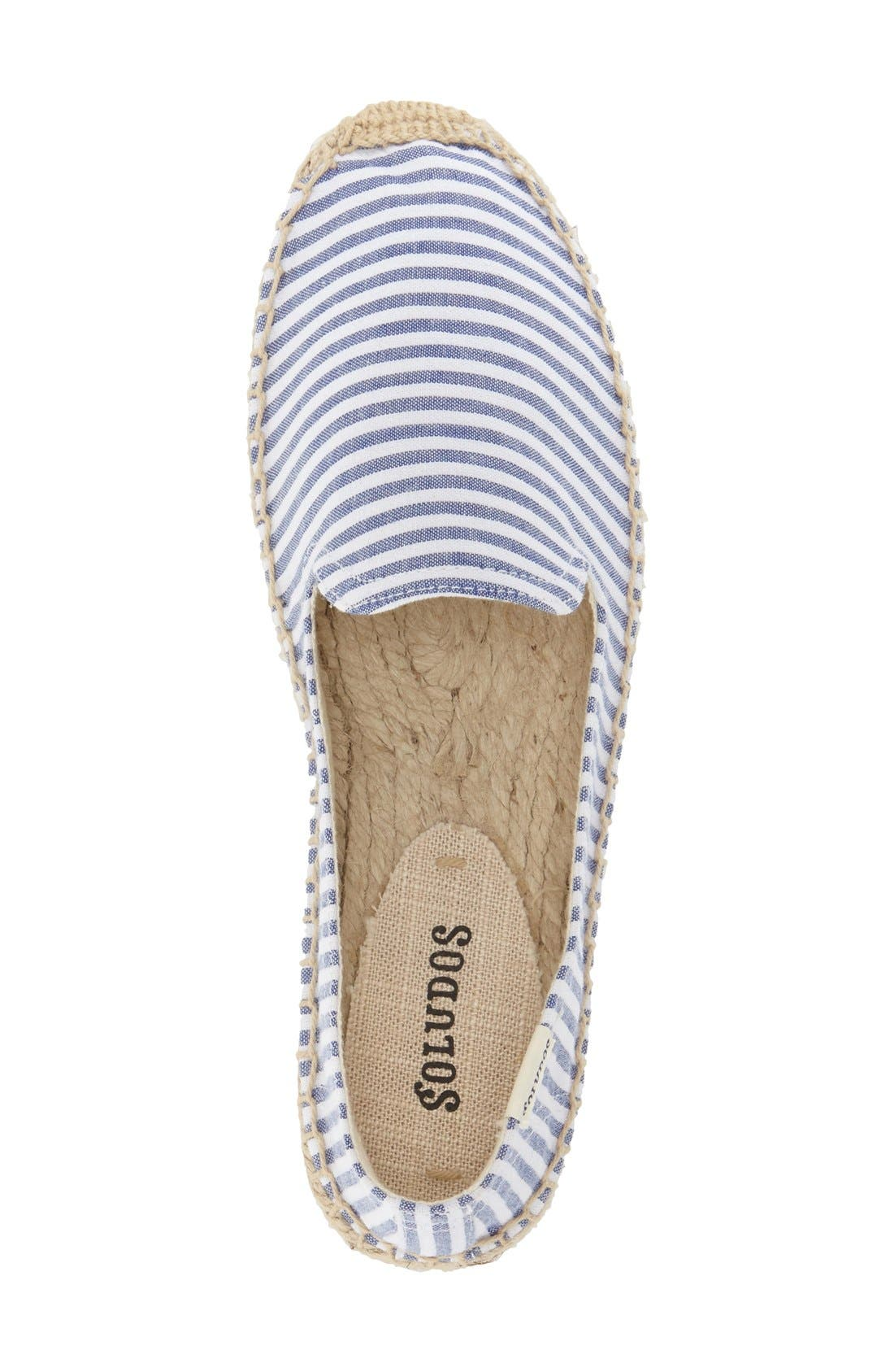 Alternate Image 3  - Soludos Smoking Slipper Espadrille (Women)