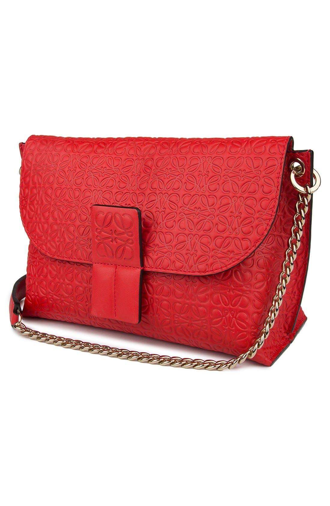 Alternate Image 4  - Loewe 'Avenue' Embossed Calfskin Leather Crossbody Bag