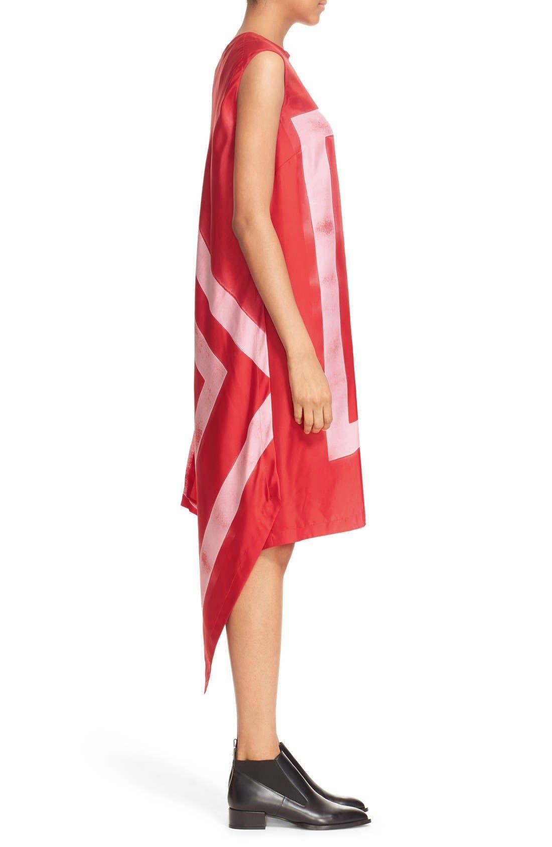 Alternate Image 3  - DKNY Asymmetrical Print Silk Tunic Dress