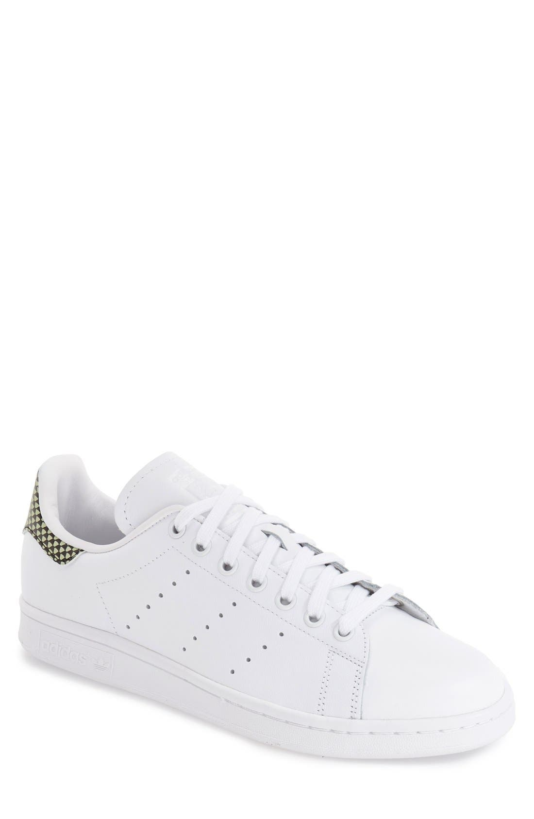 'Stan Smith' Sneaker,                         Main,                         color, White