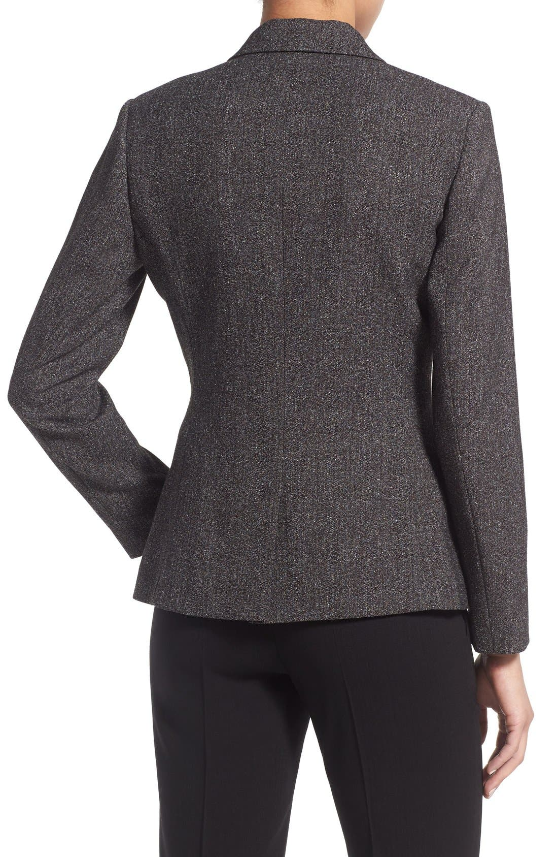 Alternate Image 3  - Vince Camuto Tweed Peplum Blazer (Regular & Petite)