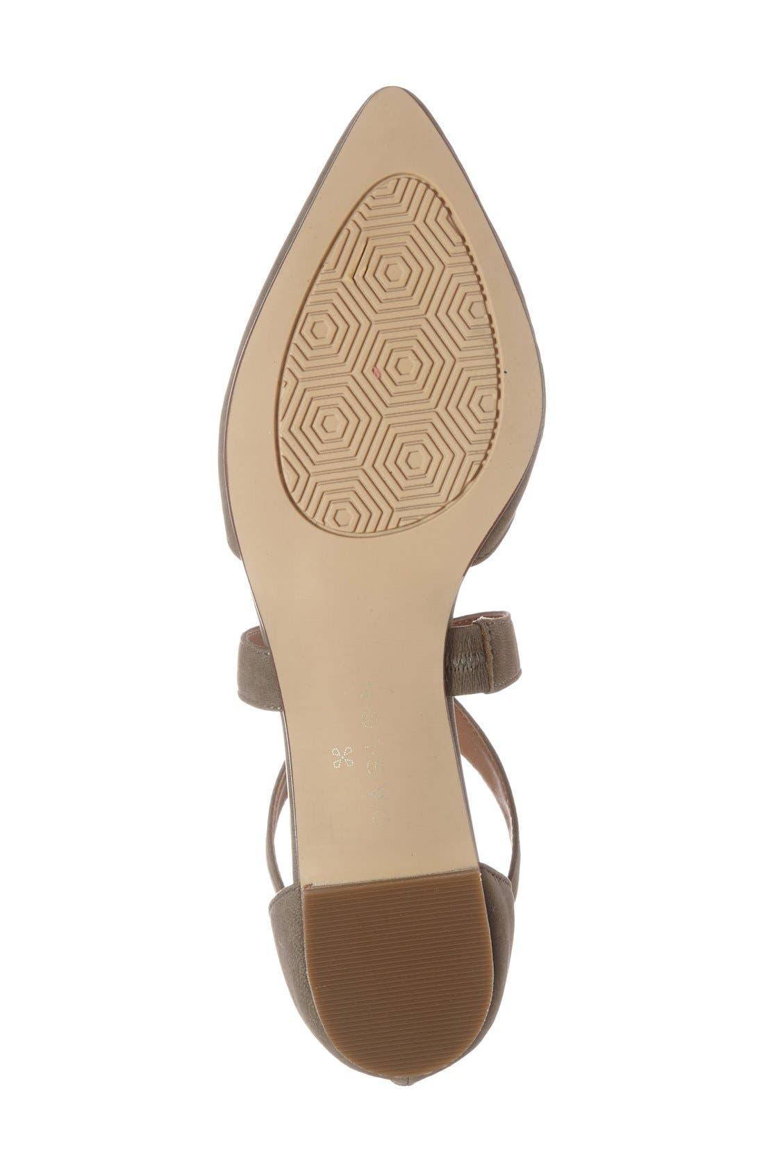 Alternate Image 4  - Caslon® 'Aubry' Pointy Toe Flat (Women)