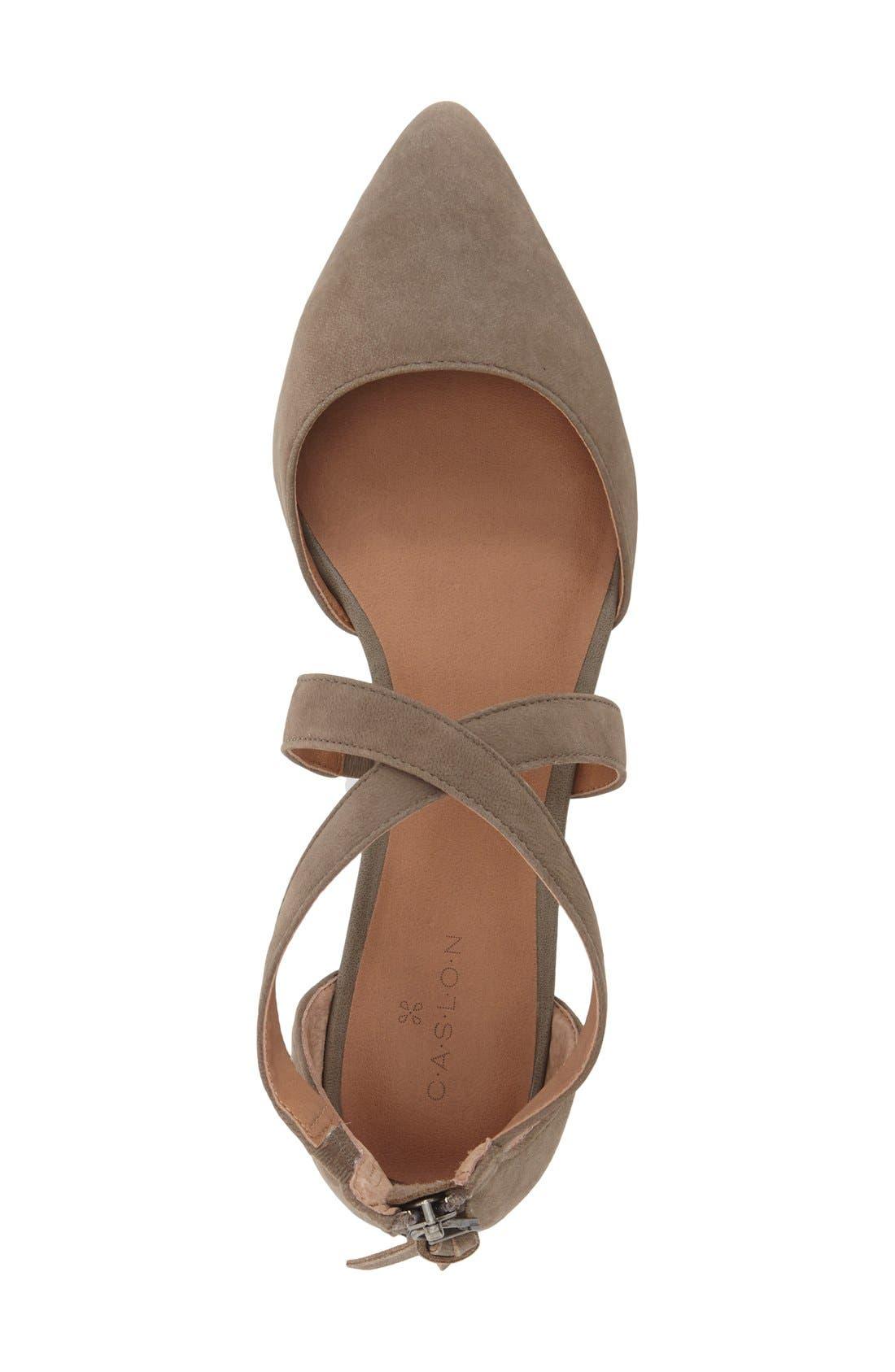Alternate Image 3  - Caslon® 'Aubry' Pointy Toe Flat (Women)