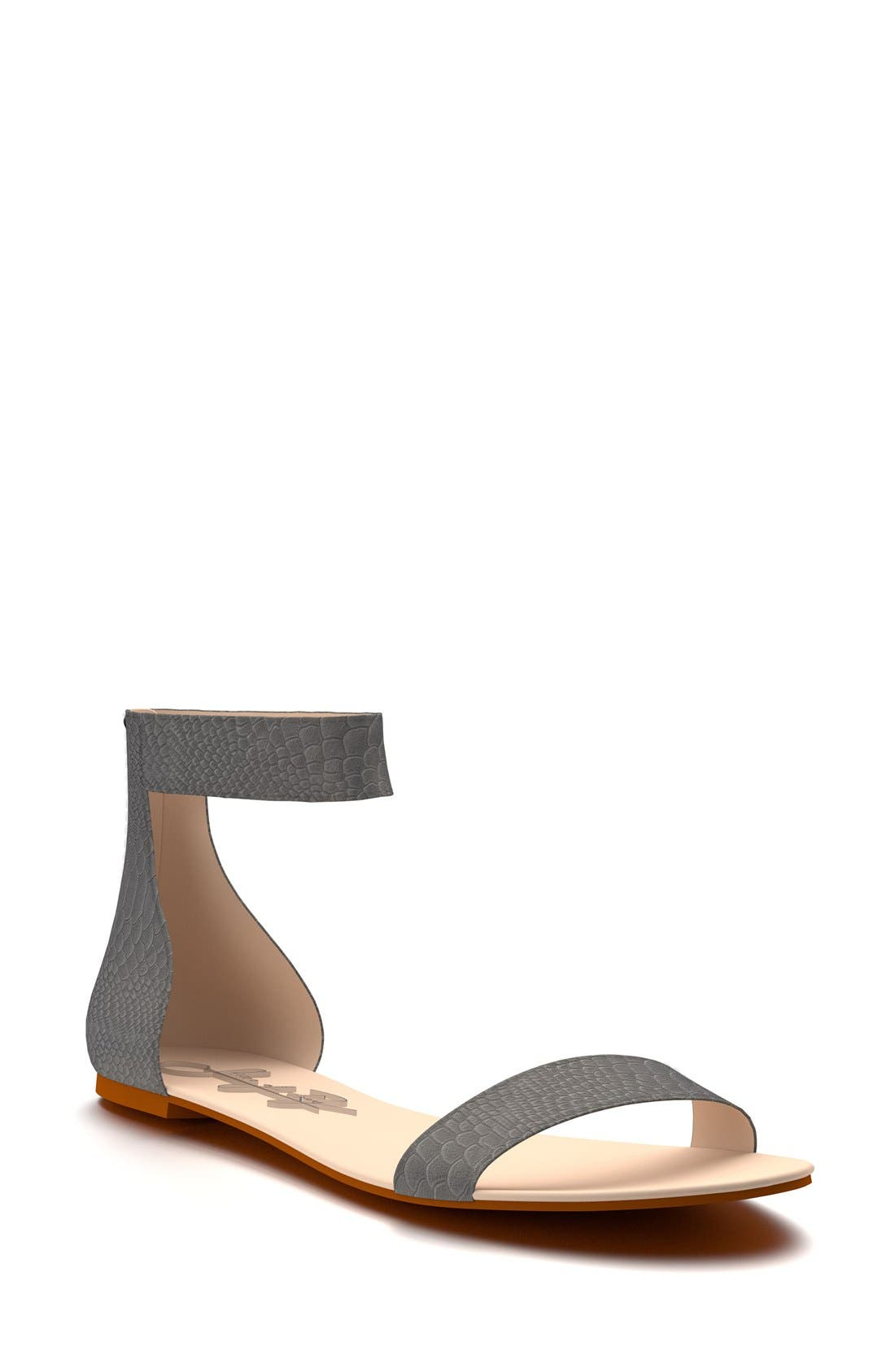 SHOES OF PREY Ankle Strap Sandal
