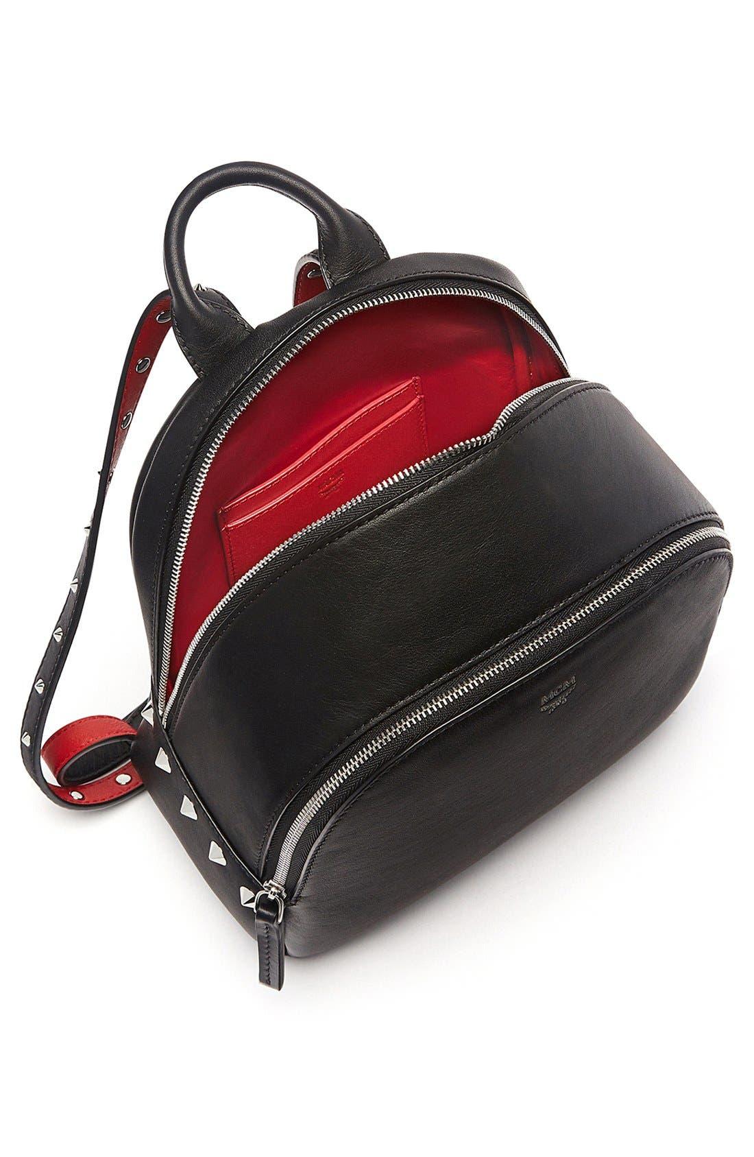 Alternate Image 4  - MCM 'Mini Duchess' Leather Backpack