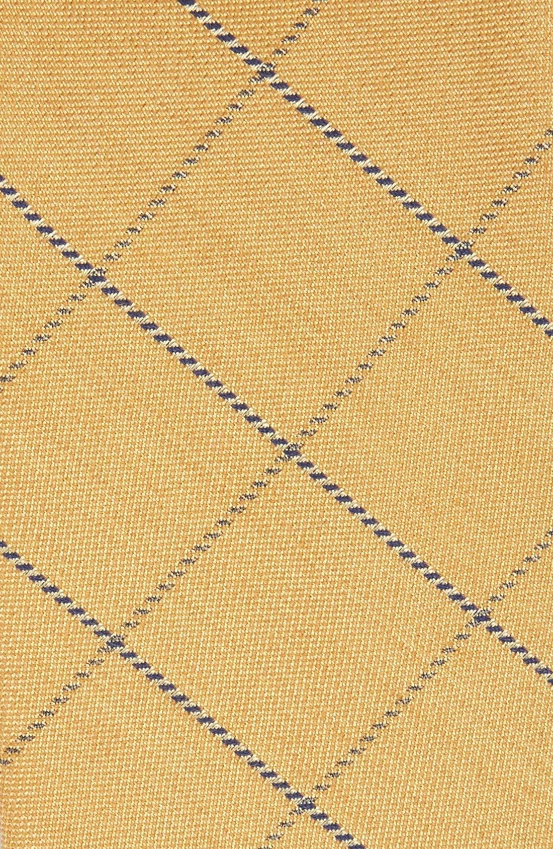 Alternate Image 2  - The Tie Bar Windowpane Wool & Silk Tie