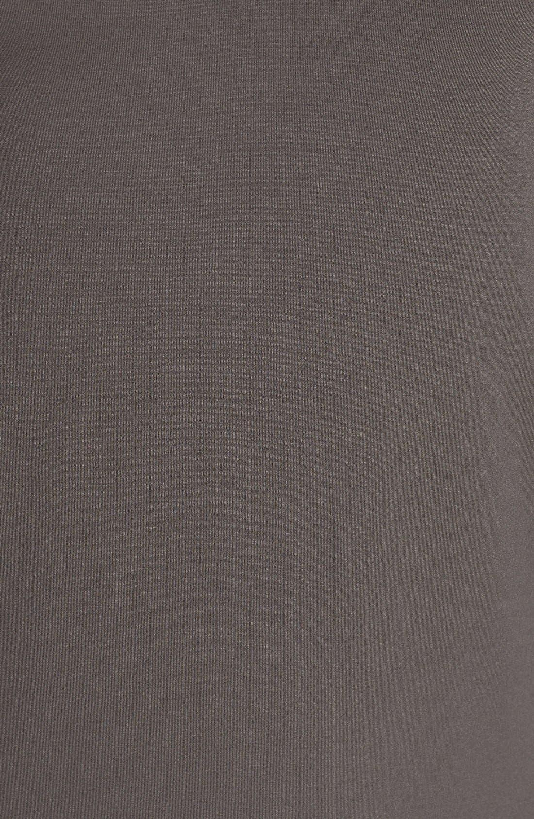 Alternate Image 5  - Eileen Fisher Scoop Neck Jersey Midi Dress (Regular & Petite)