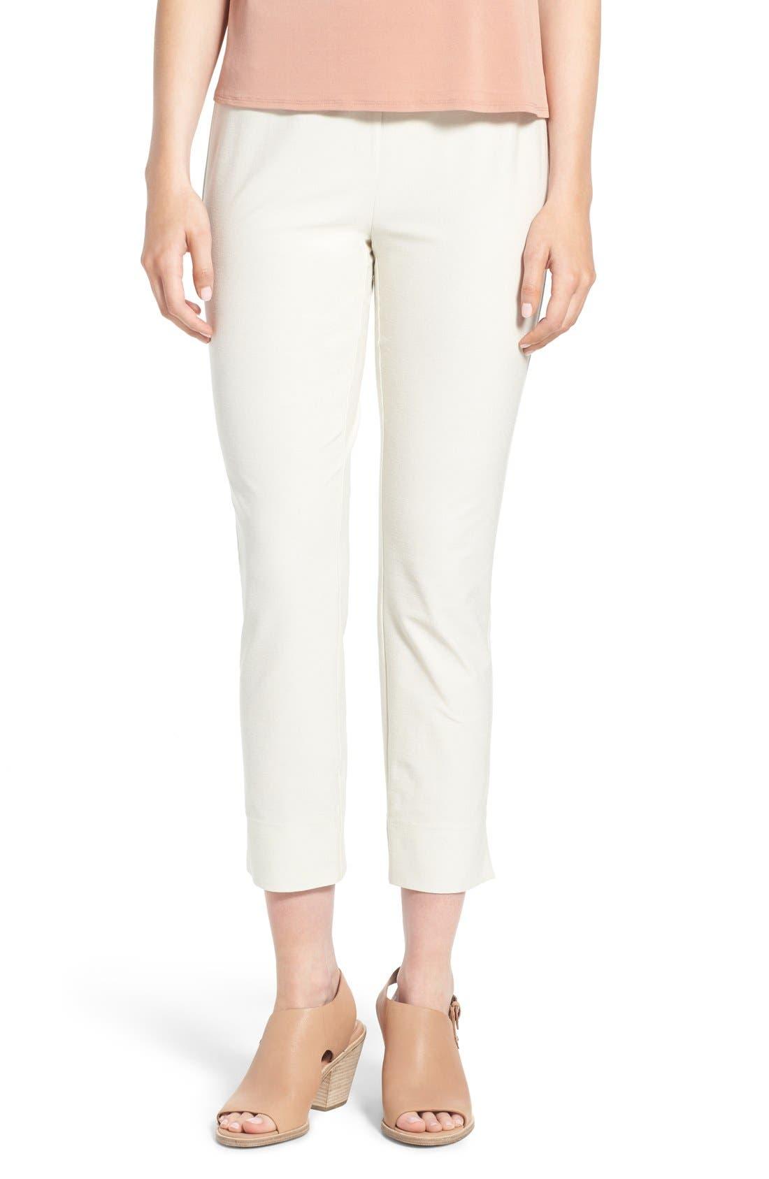 Eileen Fisher Slim pants NOTCH CUFF SLIM CROP PANTS
