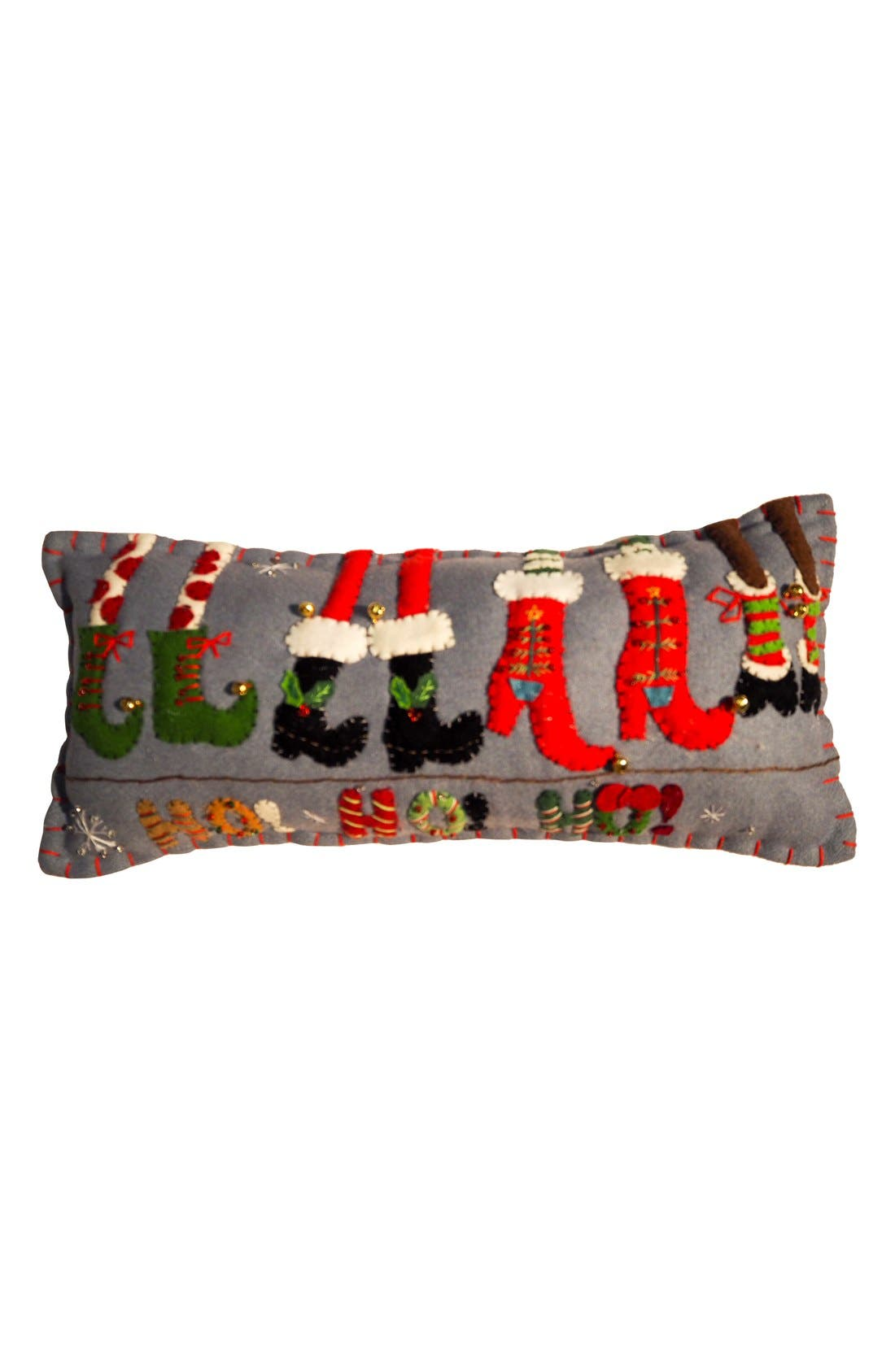 Alternate Image 1 Selected - New World Arts Cute Shoes Accent Pillow