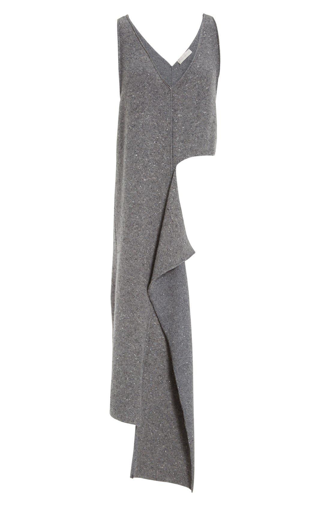 Alternate Image 4  - Stella McCartney Asymmetric High/Low Flannel Top