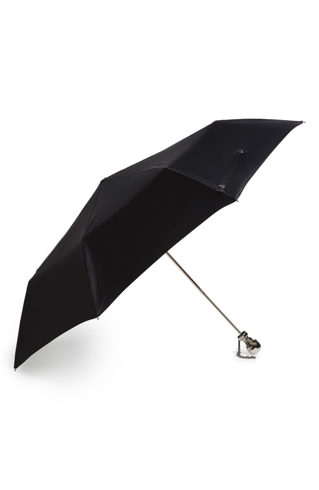 Alternate Image 1 Selected - Alexander McQueen Folding Umbrella