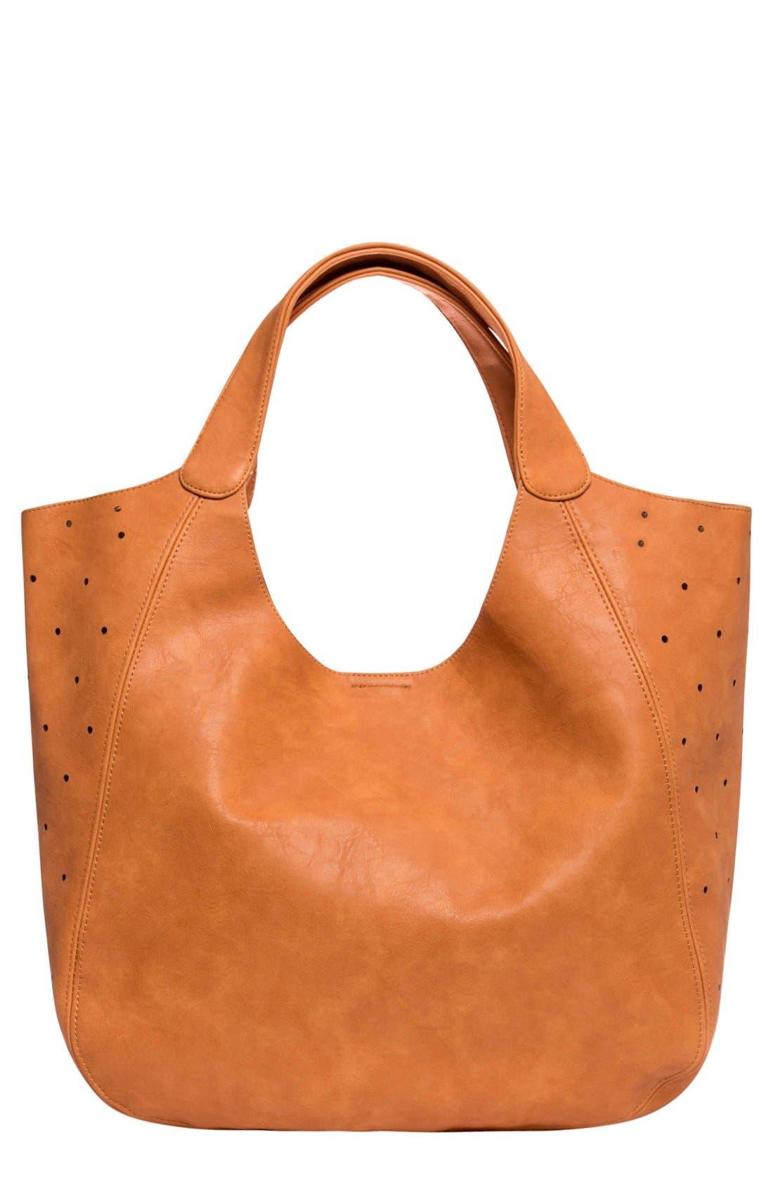 URBAN ORIGINALS Masterpiece Perforated Vegan Leather Tote