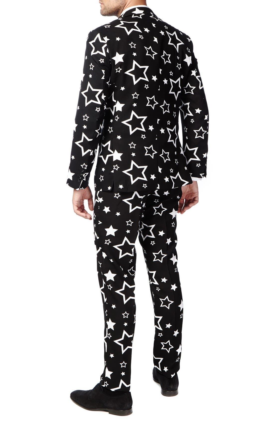 Alternate Image 2  - OppoSuits 'Starring' Trim Fit Two-Piece Suit with Tie